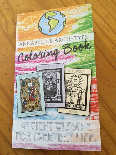 Annabelle Nelson Coloring Book